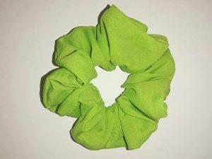 CK6 Apple Green Scrunchies